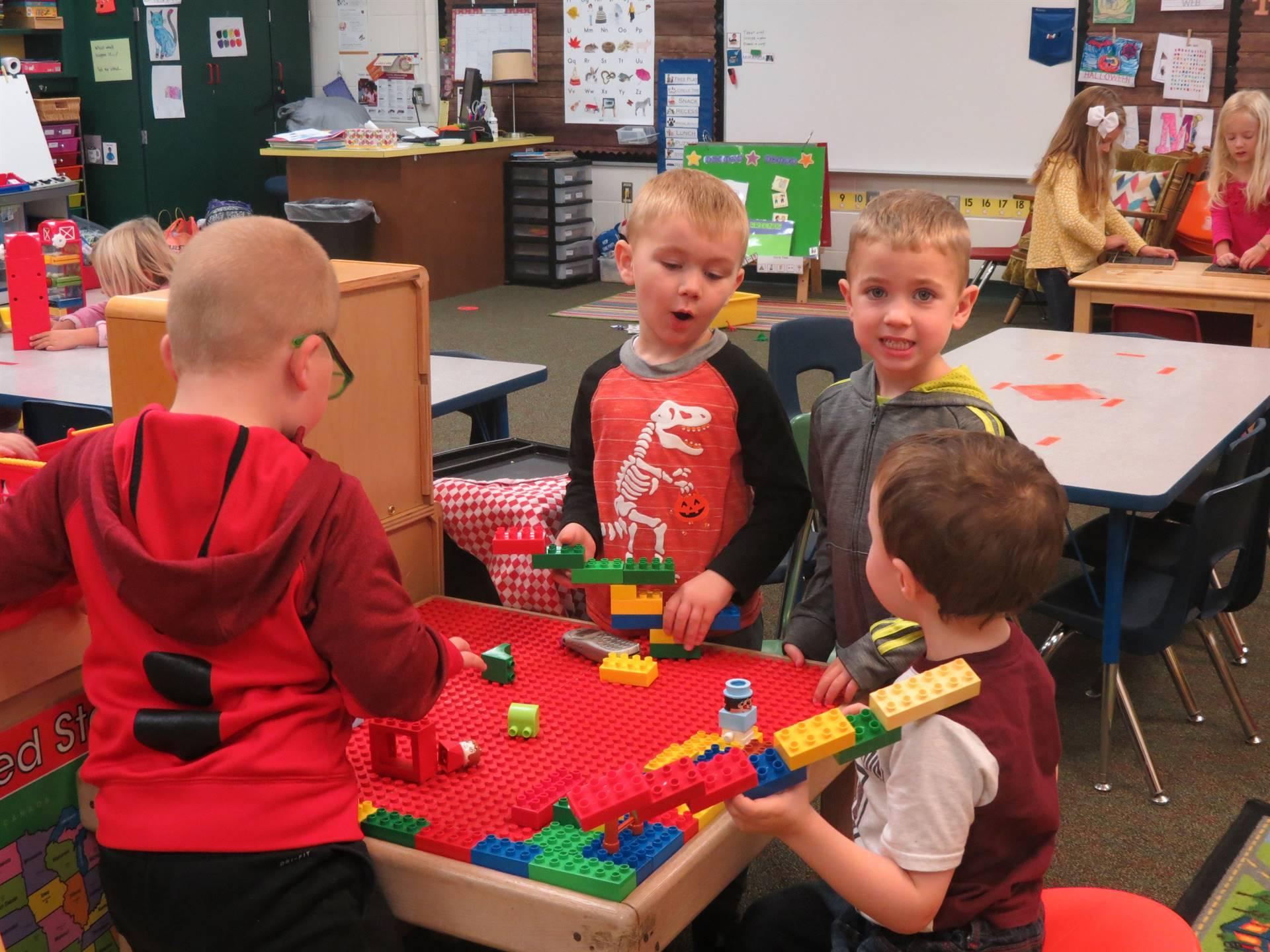 Elementary free play