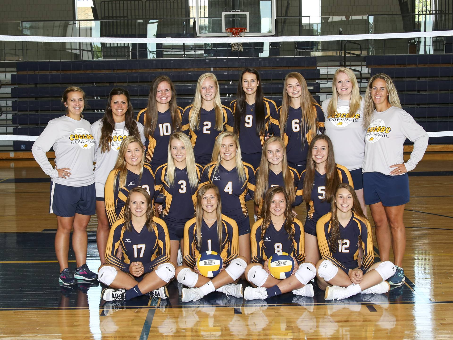 CHS varsity volleyball team