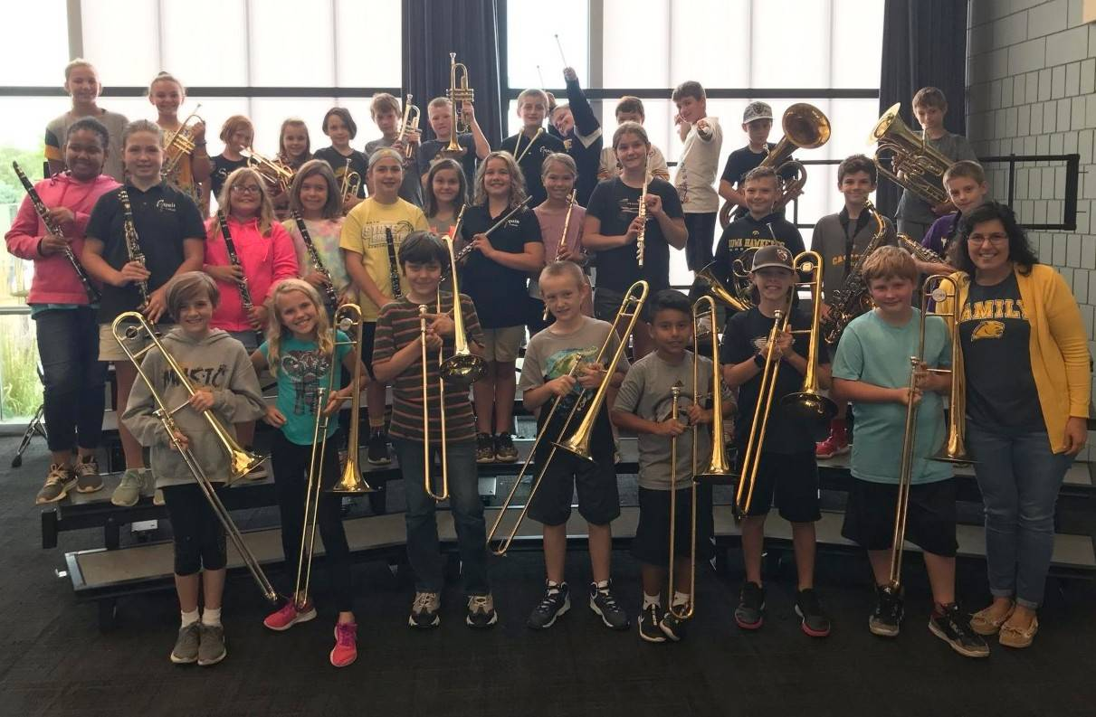 Cascade Elementary 5th grade band