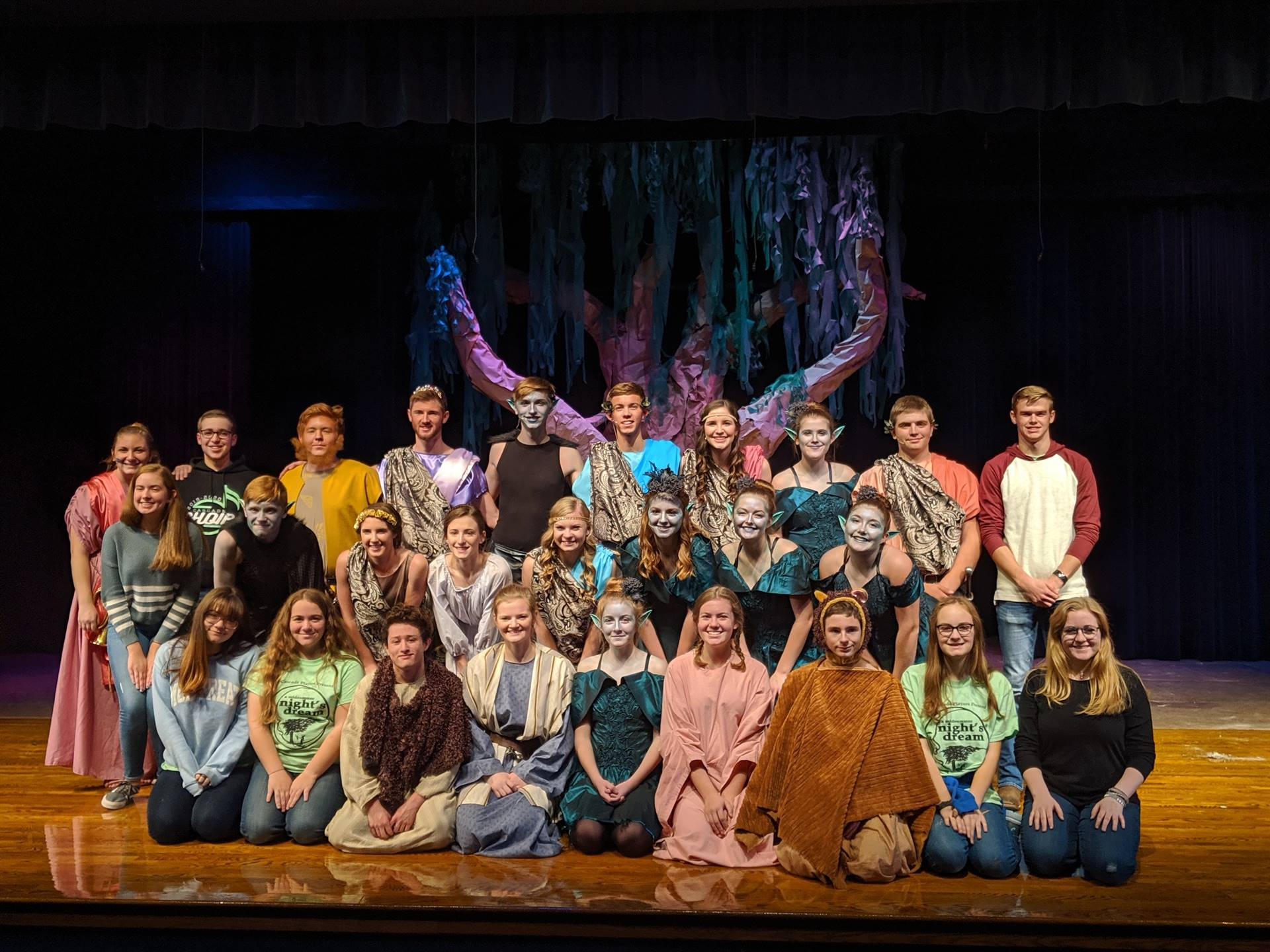 A Midsummer Night's Dream Cast and Crew