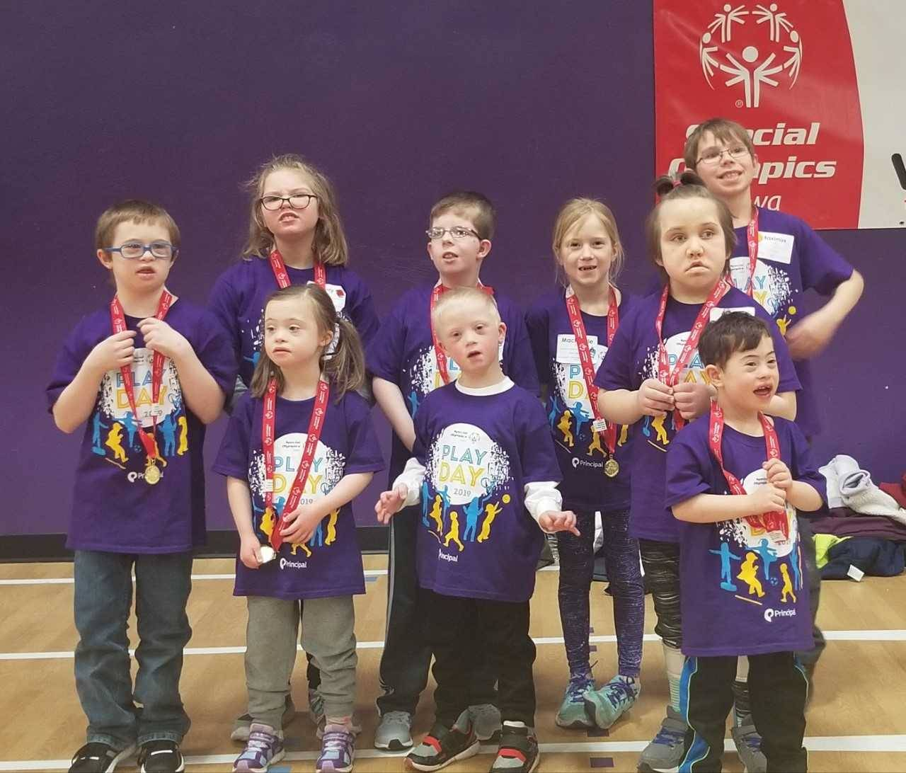 Special Olympics Contestants
