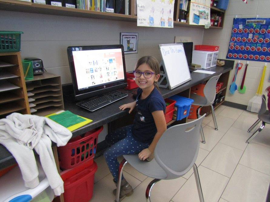 Classroom computer time in grade 3