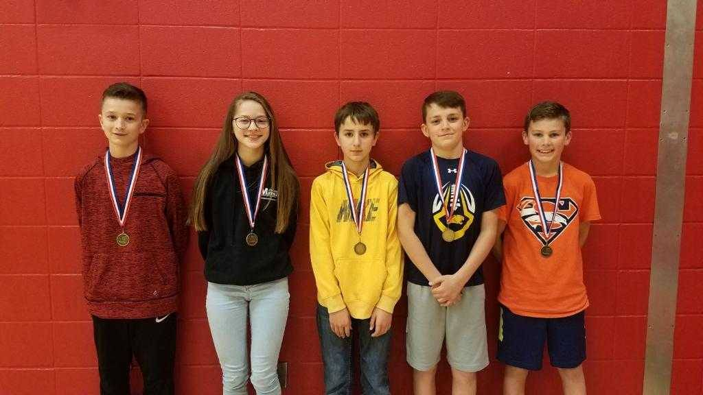 5-6th graders participate in Math Olympiads