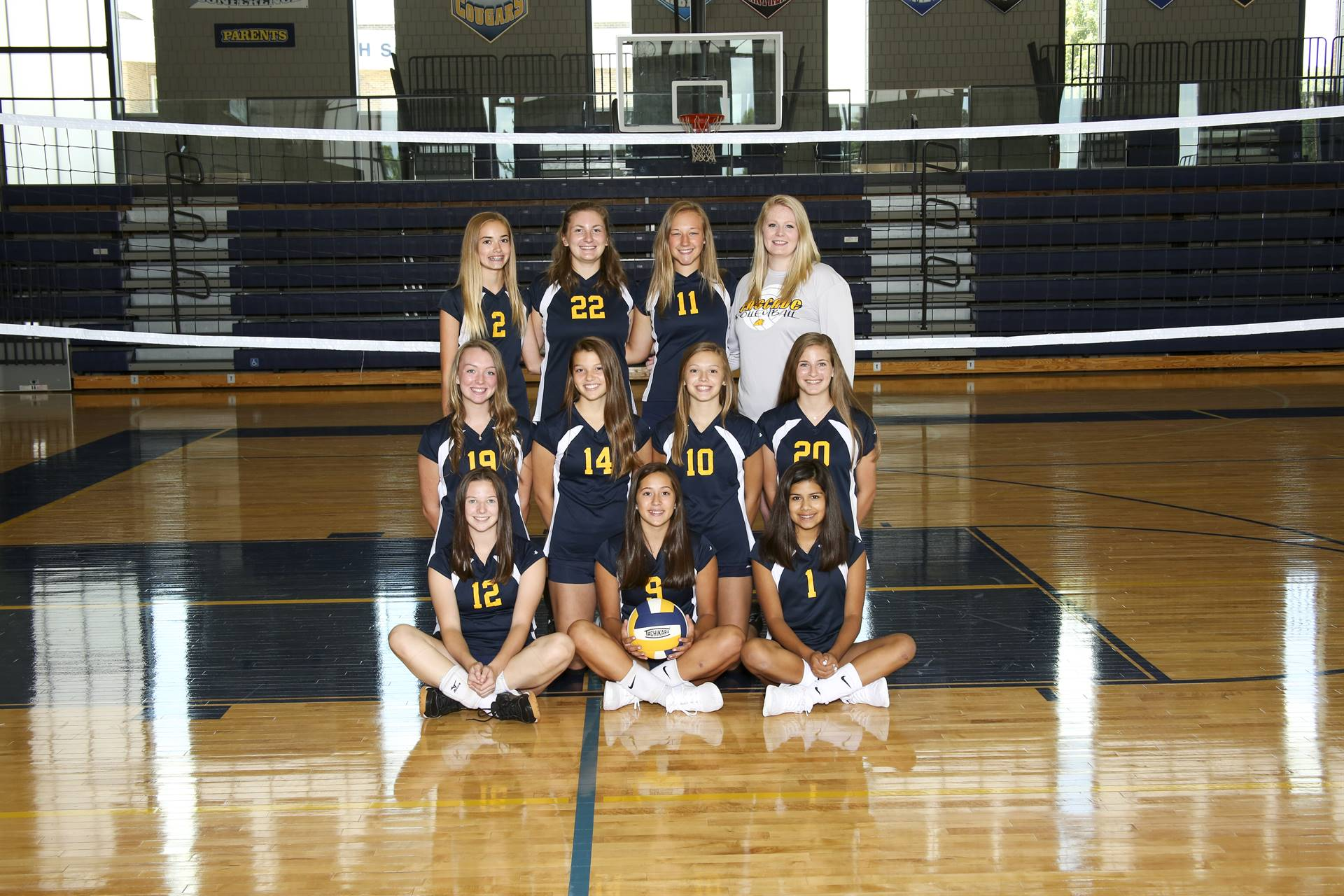Sophomore Volleyball team
