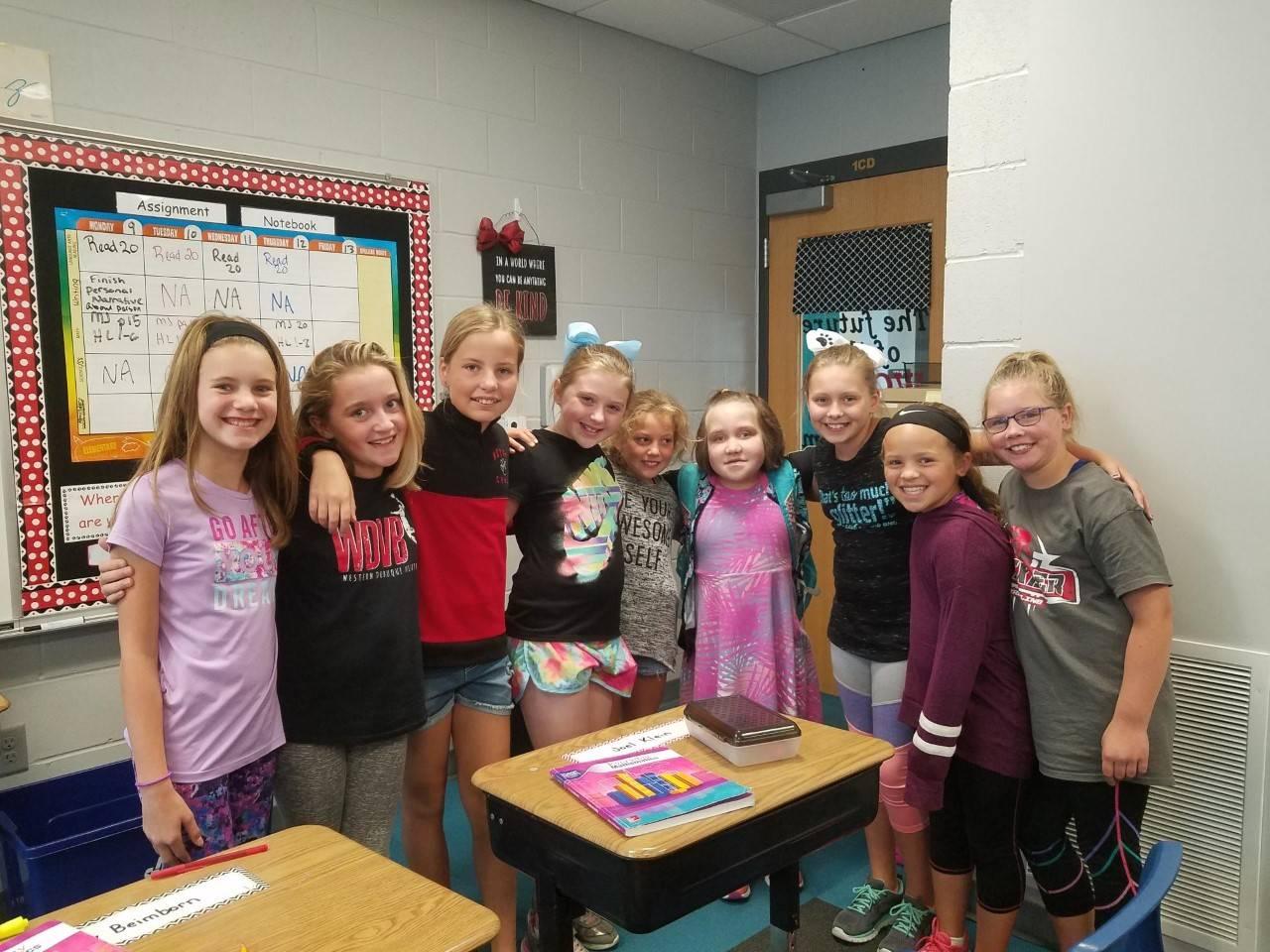 4th grade girls