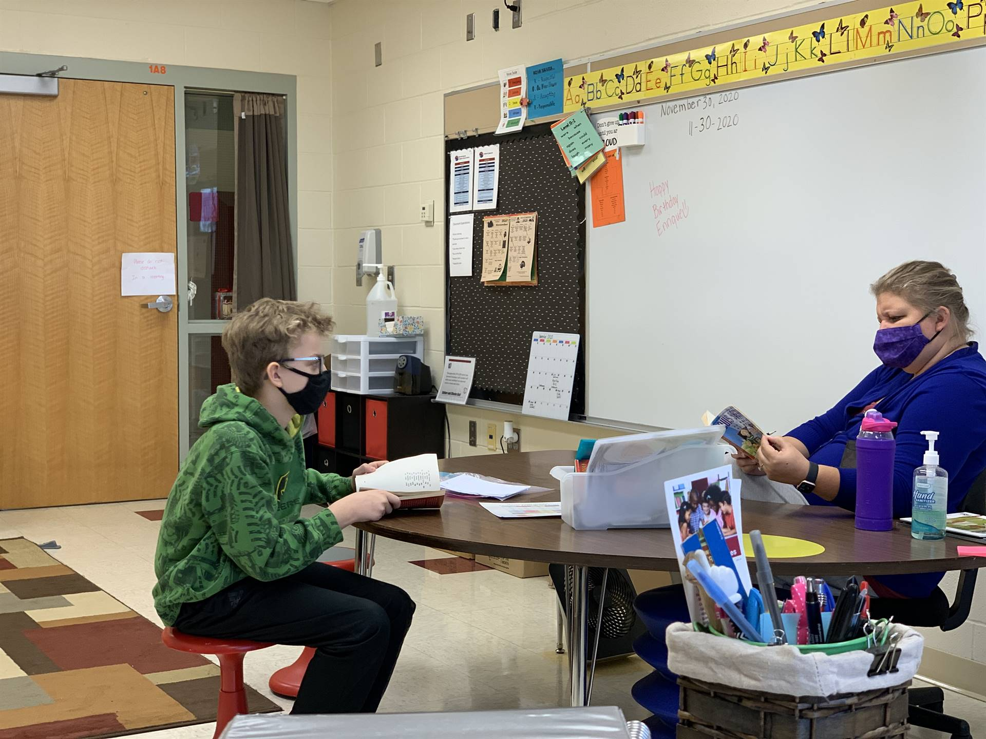 small group literacy conversation