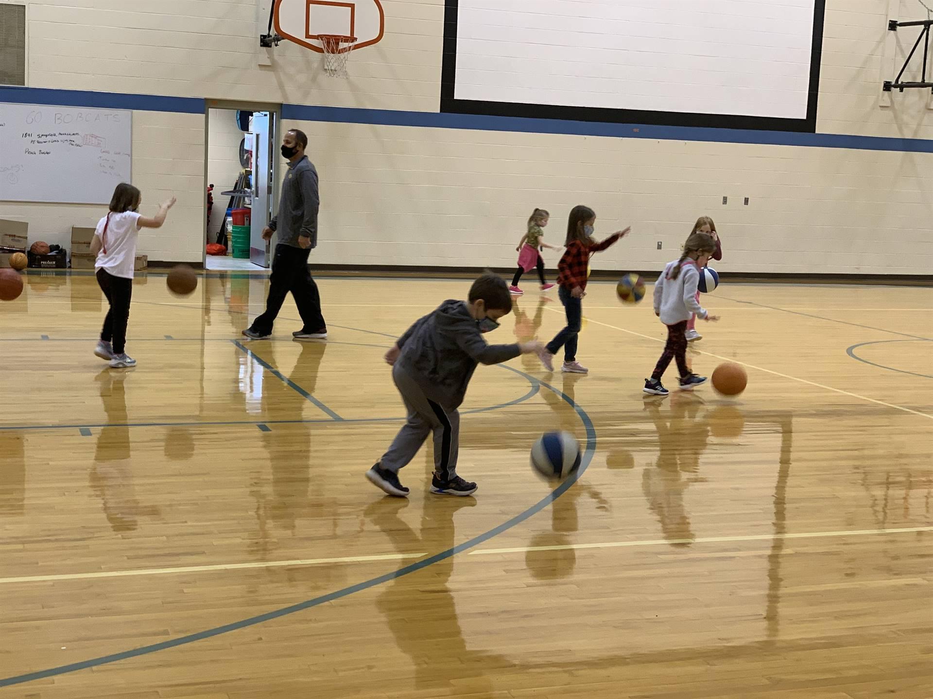 kindergarten basketball