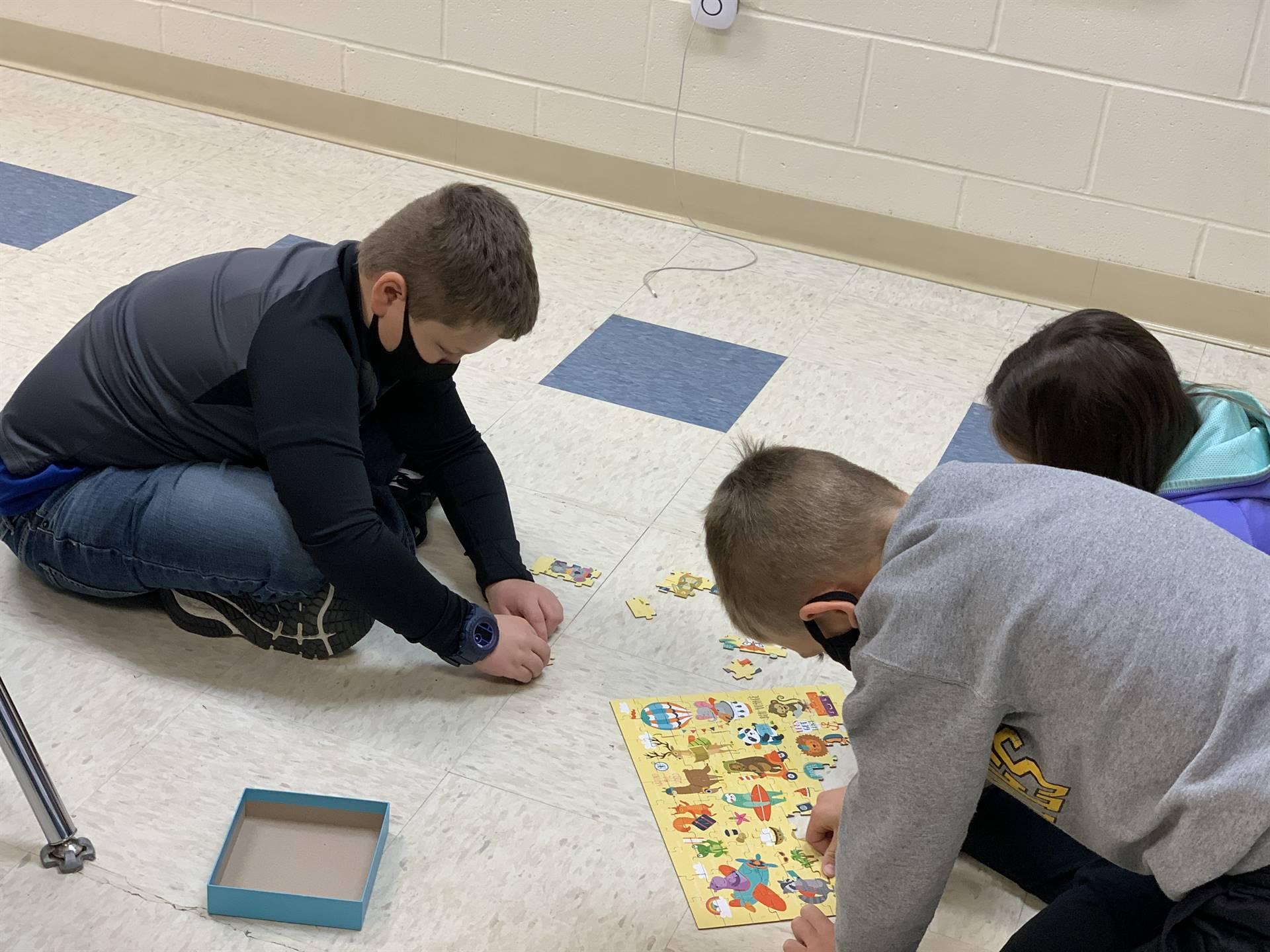 second grade puzzle