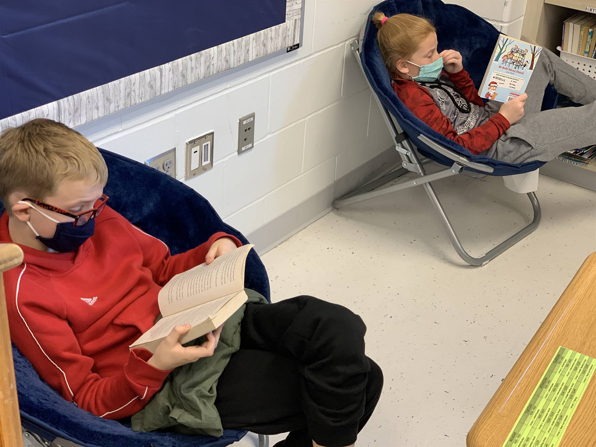 5th grade independent reading