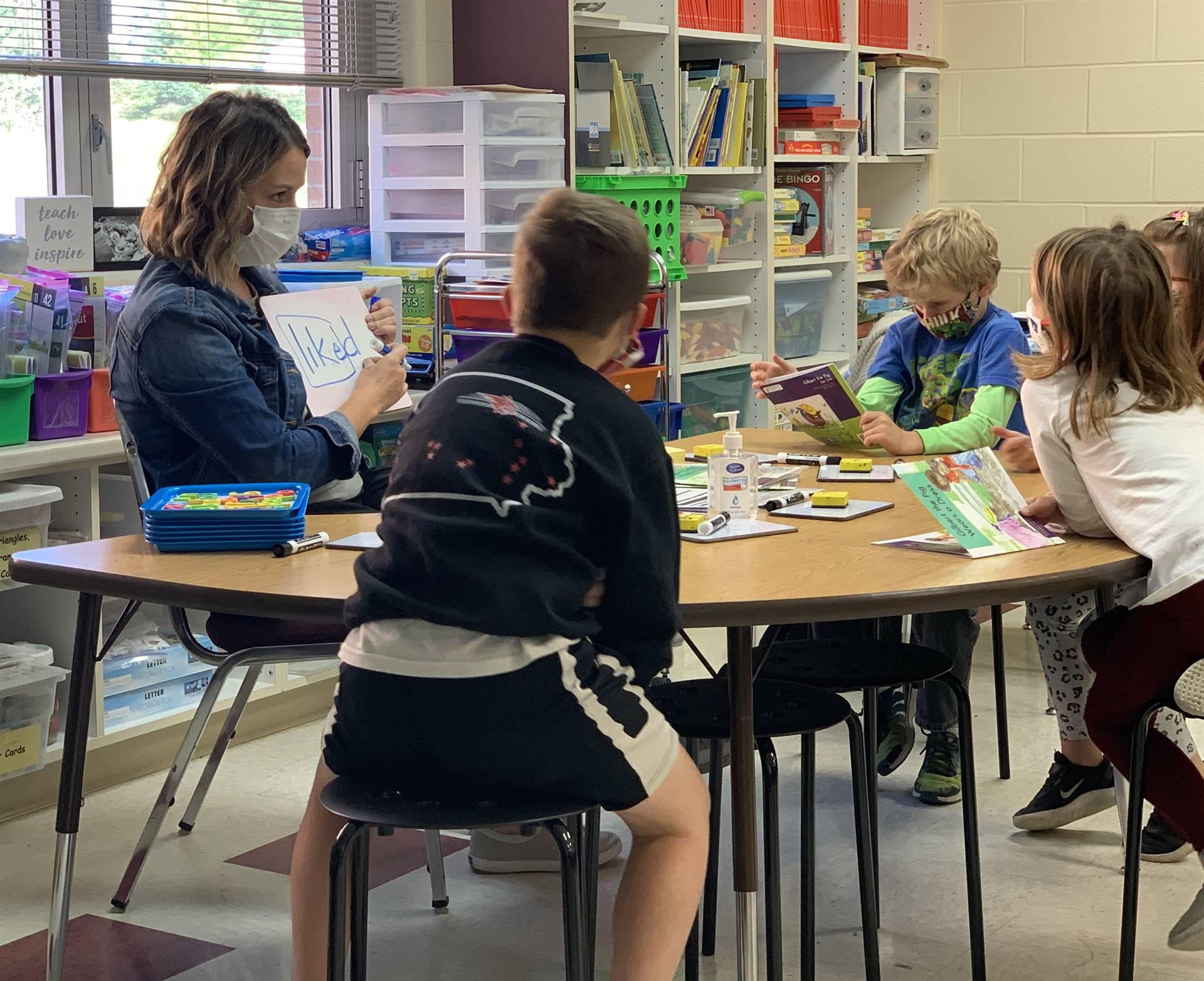 1st grade reading group