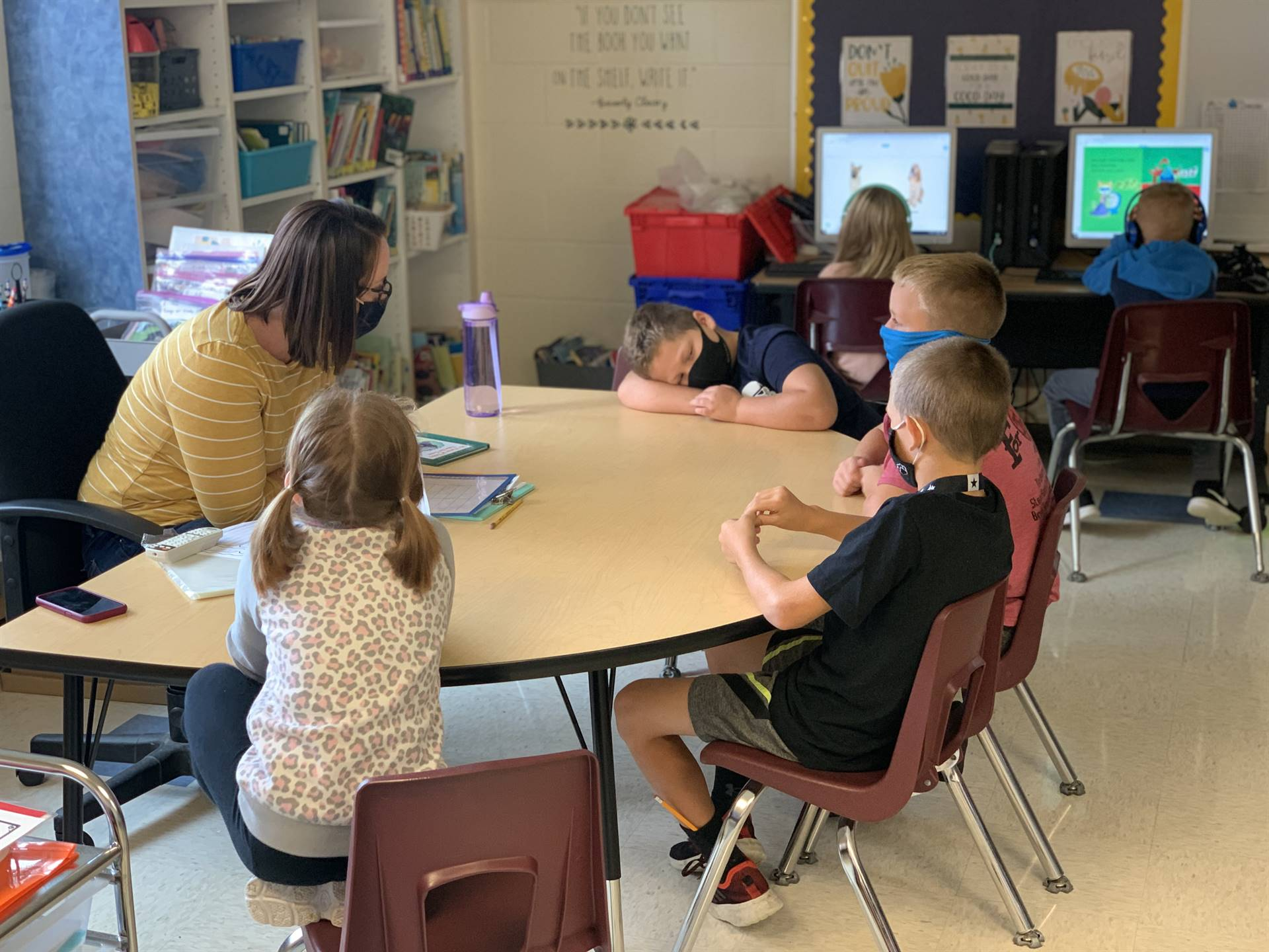 small group instruction in second grade
