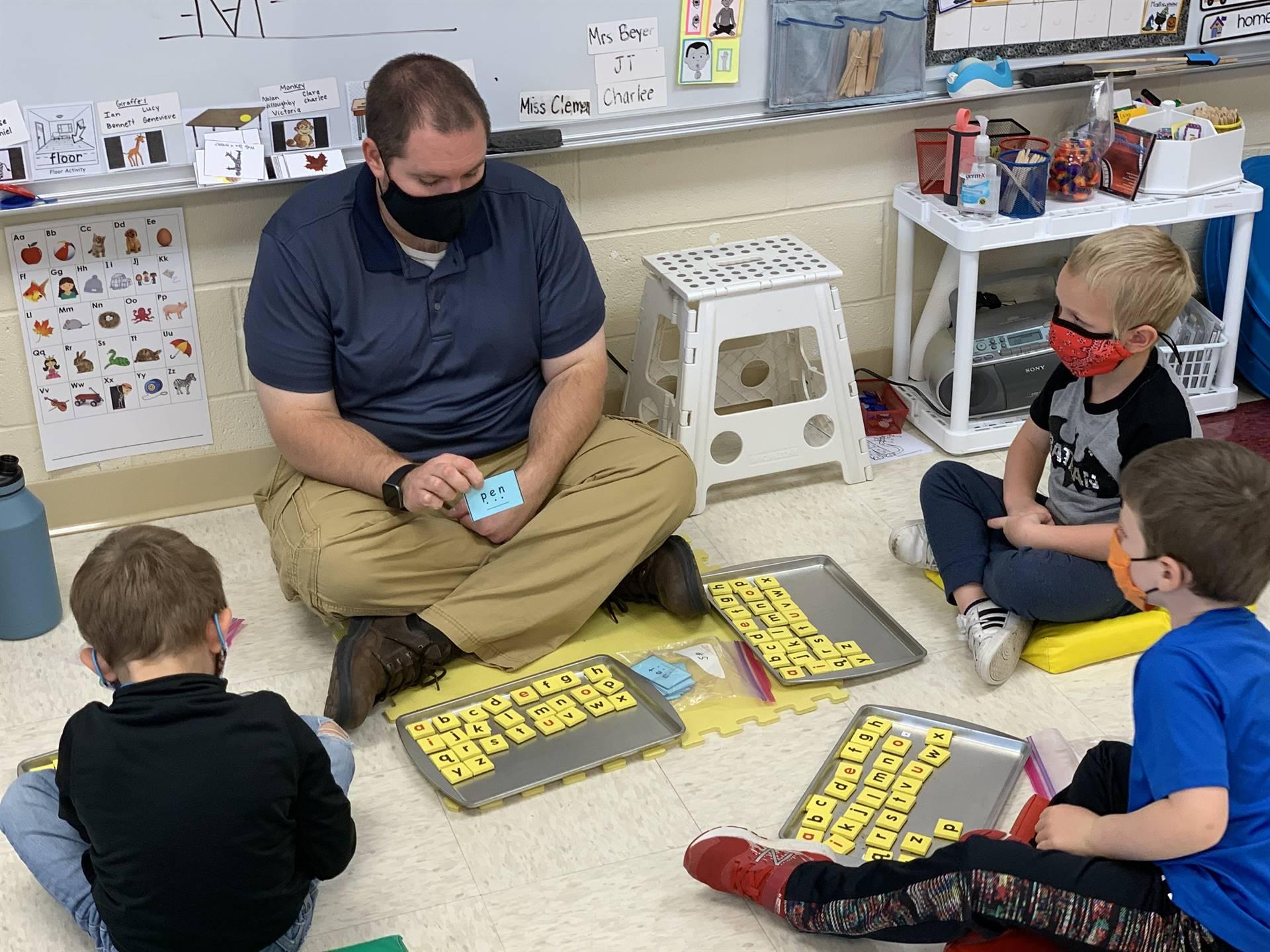 word work in kindergarten