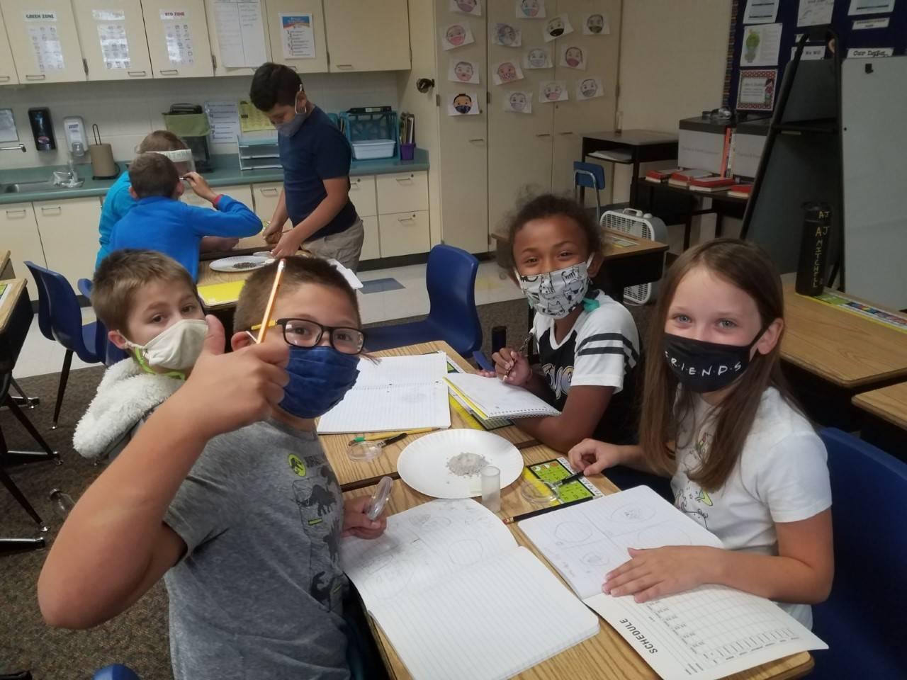 Science - Soils, Rocks & Landforms 4th grade