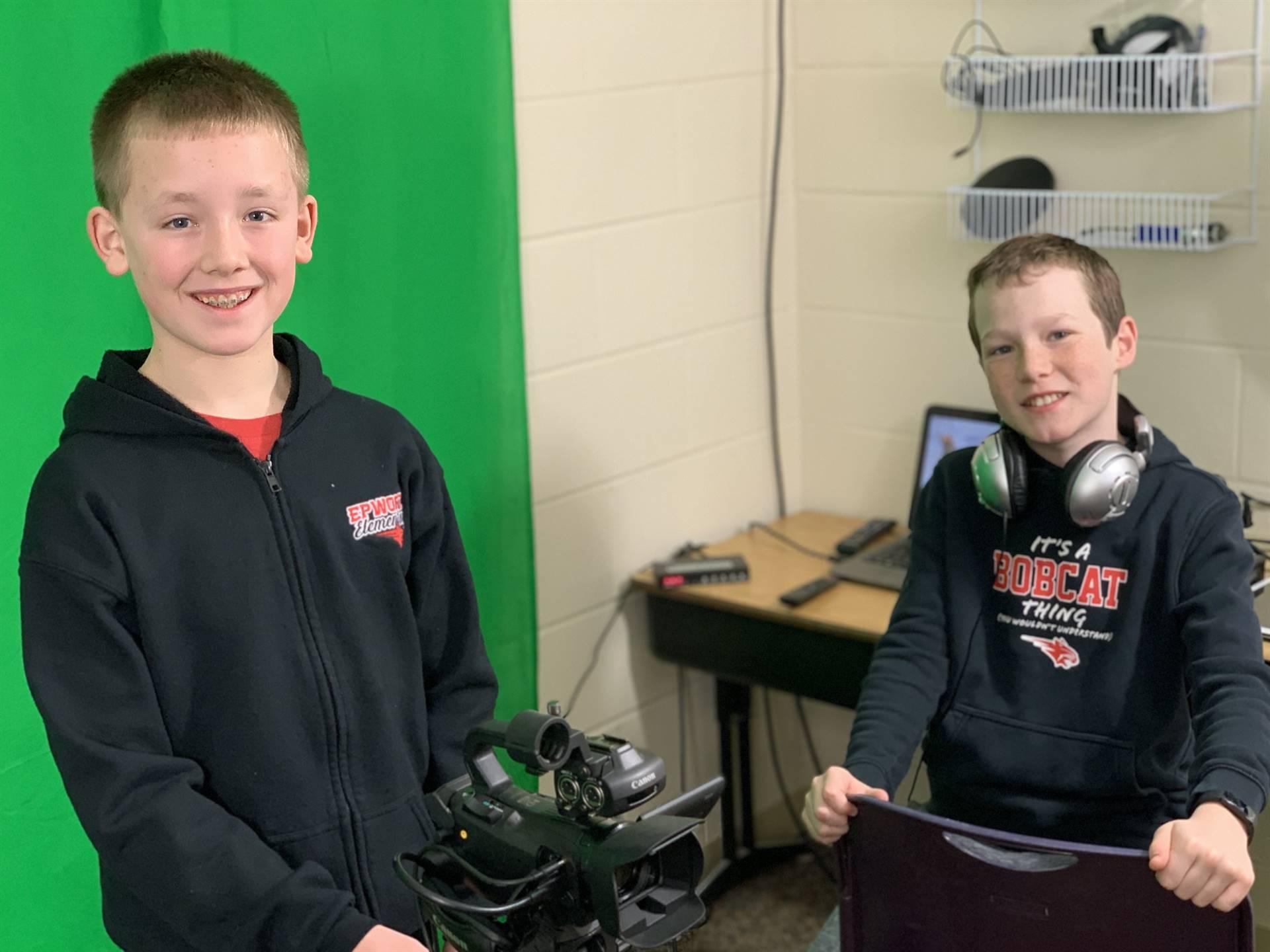 Technology Ambassadors at Epworth Elementary