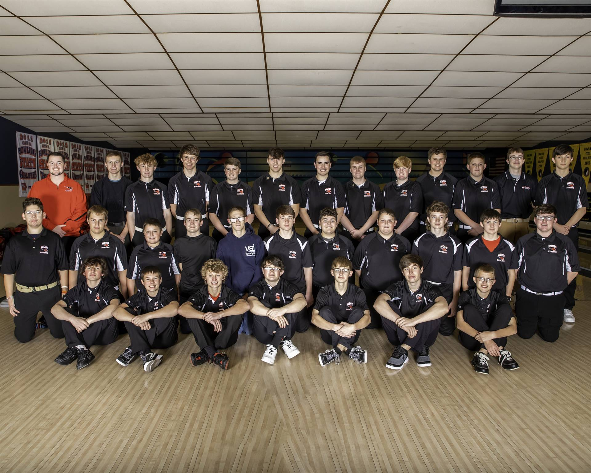 2020-2021 Boys Bowling Team Photo