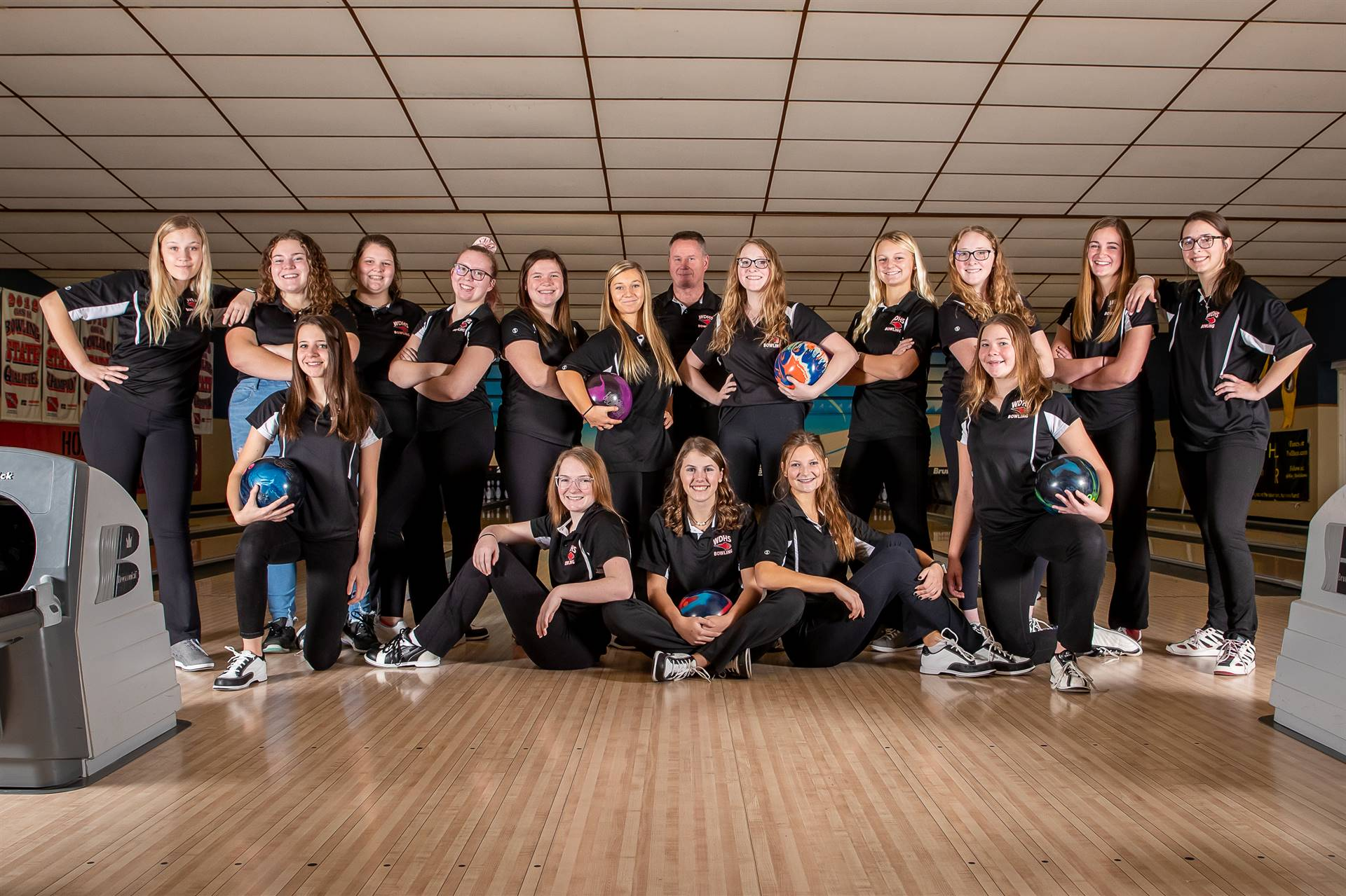 2020-2021 Girls Bowling Team Photo