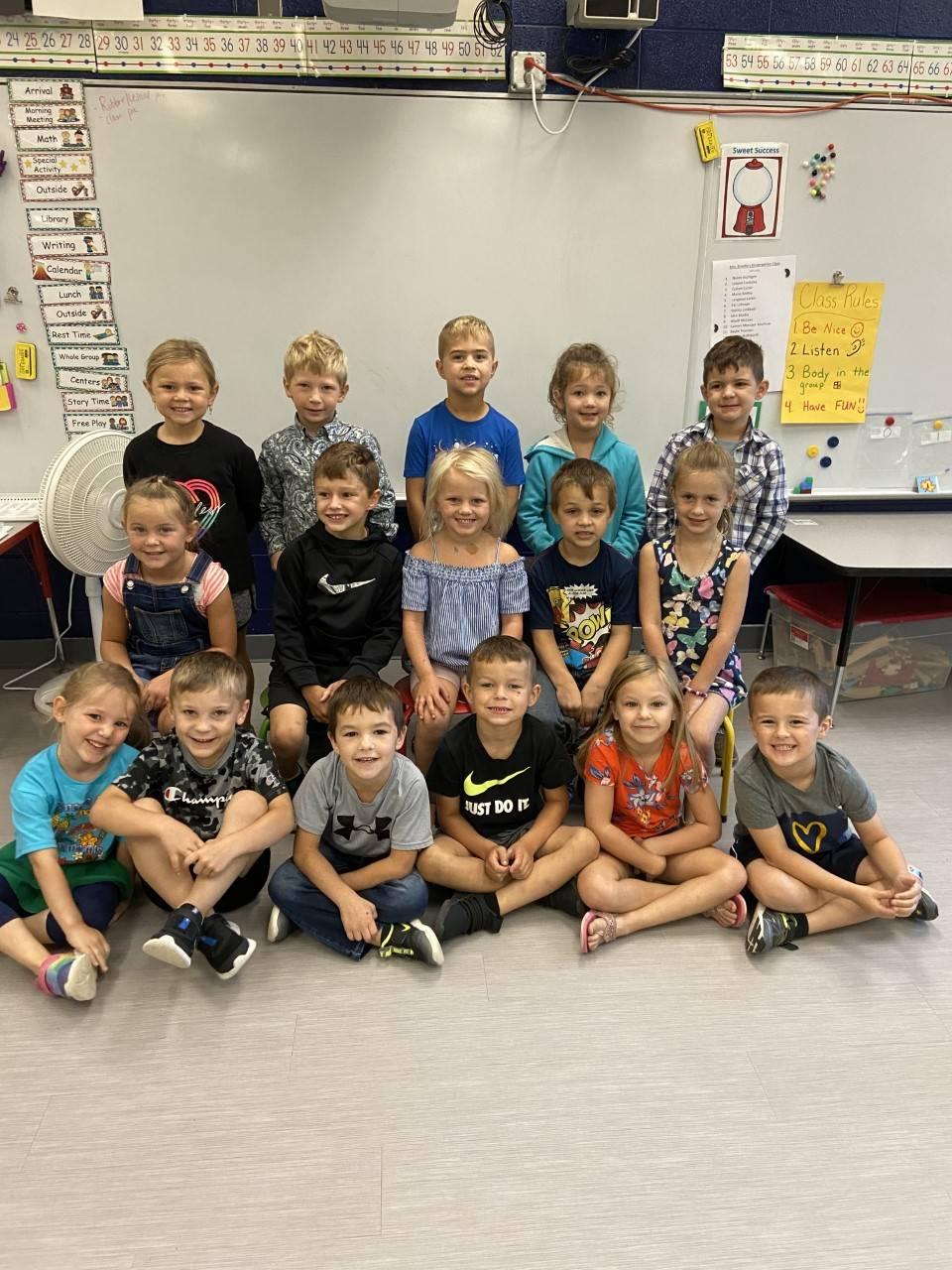 Brindle Kindergarten class