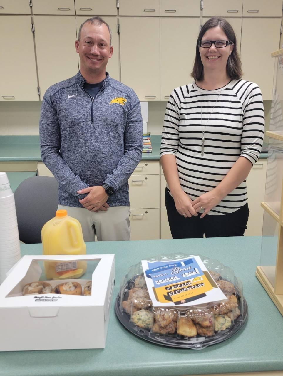 Ohnward Bank delivers breakfast for staff