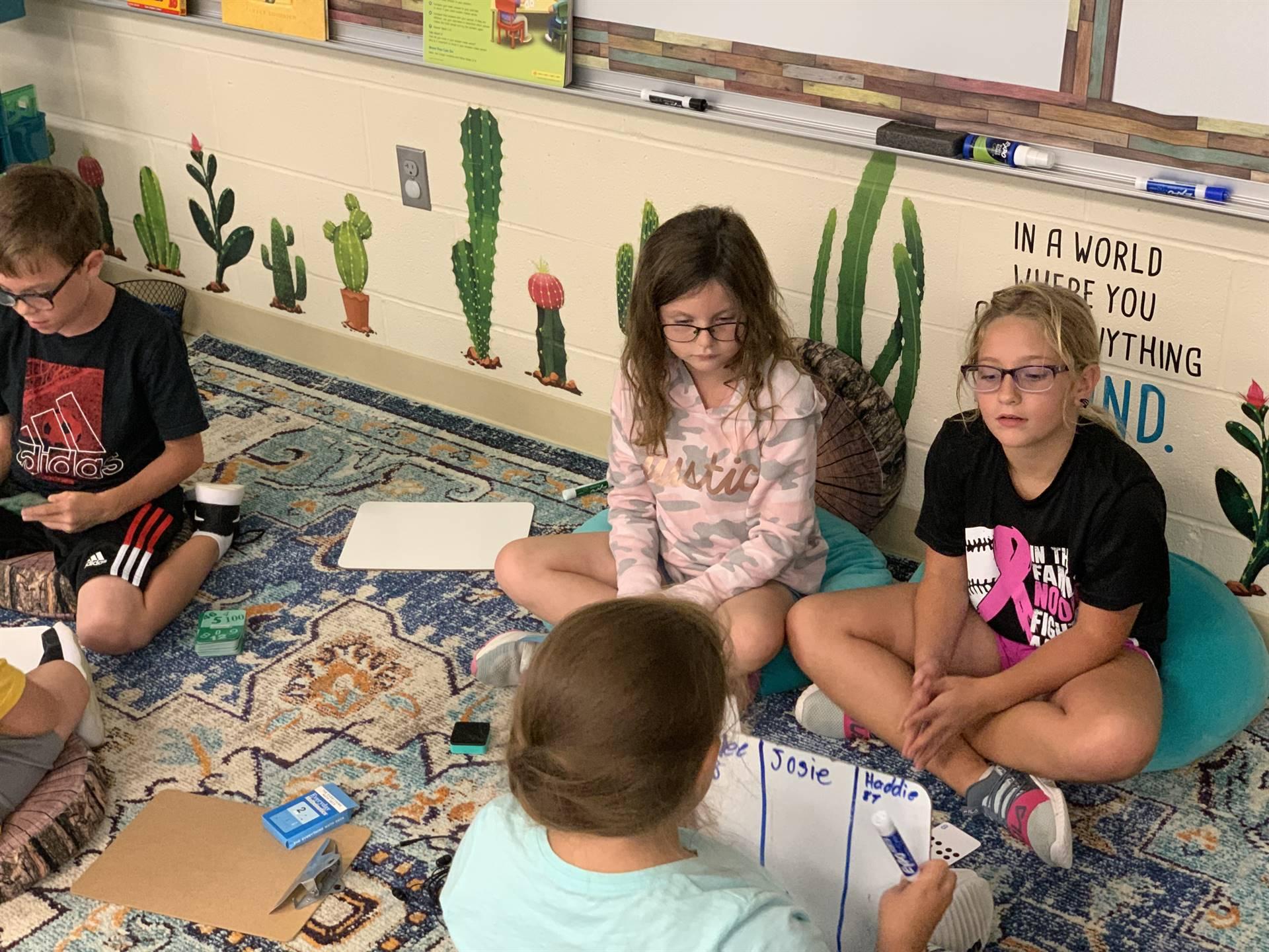 3rd grade discussion