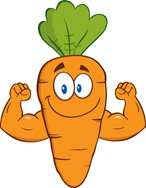 clipart of a carrot