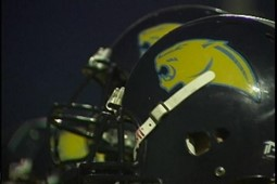 Photo of Cougar football helmet