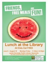 summer foods flyer